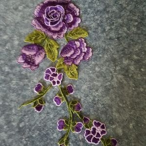 Sewing item embroidered robes